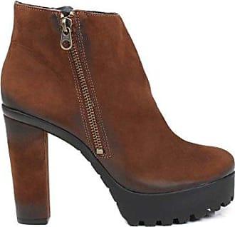 Schutz S2-02360001, Zapatos de Tacón con Punta Cerrada para Mujer, Dorado (Platina Platina), 39 EU