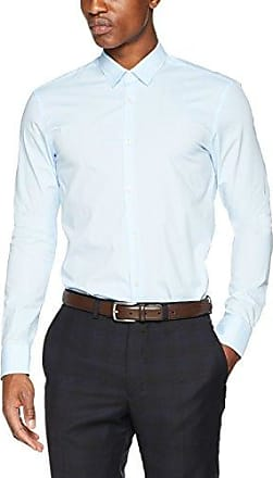 Nos-Classic Longsleeve Shirt in Crispy Qualit, Camisa Para Hombre, Azul (Night 58), XX-Large Scotch & Soda