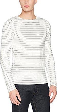 Gestreift Grandad T-Shirt, Camiseta para Hombre, Multicolor (Combo a 0217), Medium Scotch & Soda