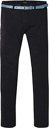 Classic Garment Dyed Chino Pant In Stretch Cotton Quality, Pantalones para Hombre, Azul (Ink 0132), W32/L34 Scotch & Soda