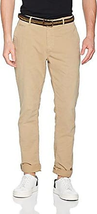 Classic Chino In Stretch Twill Quality, Pantalones para Hombre, Marrón (Sand 0137), W34/L34 Scotch & Soda