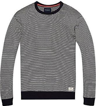 Scotch & Soda Maison 134864, Camiseta de Manga Larga para Mujer, Multicolor (Combo A 17), 44 (Talla del Fabricante: 4)