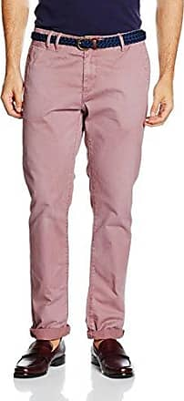 Ralston-Garment Dye Colours, Vaqueros Straight para Hombre, Rosa (Terracotta 1188), W32/L32 Scotch & Soda