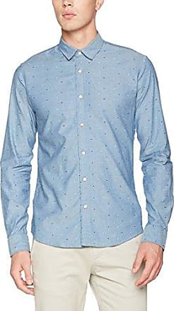 Slim Fit, Camisa para Hombre, Multicolor (Combo E 0221), Large Scotch & Soda