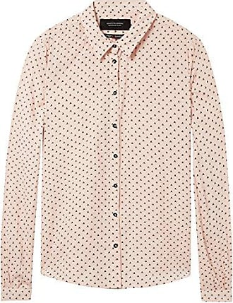 Scotch&Soda Maison Classic Long Sleeve Shirt with Allover Print, Chemise Femme, (Combo D 20), Small