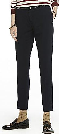 Womens Jacquard Pattern Tailored Pants Trousers Scotch & Soda