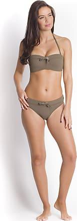 Haut de Bikini Bandeau Olive