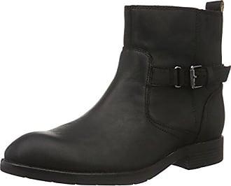 Sebago Kowloon Womens Leder Ankle Boots / Schuh - schwarz - SIZE EU 38