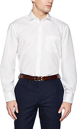 Comfort, Camisa de Oficina para Hombre, Azul (Petrol 57), 42 cm Seidensticker