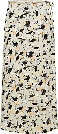 Print Maxirock Dames Beige Selected