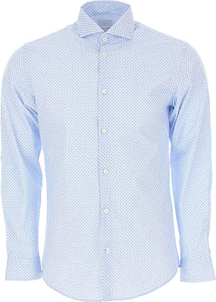 Shirt for Men On Sale, Sky Blue, Cotton, 2017, L M S Selected