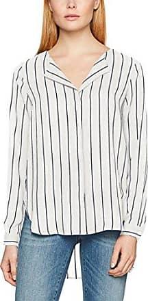 SFDYNELLA LS Shirt, Blouse Femme, Bleu (Ombre Blue), 36Selected