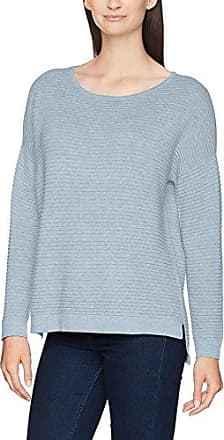 Sfwille SS Knit Pullover, Pull Femme, Bleu (Navy Blazer), 40 (Taille Fabricant: M)Selected