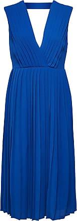 Locker Geschnittenes Kleid Dames Blauw Selected