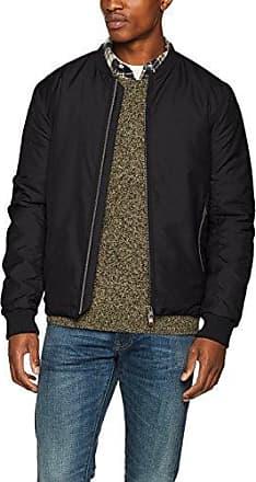 Shnnewlight Bomber Jacket, Chaqueta para Hombre, Negro (Black Black), X-Large Selected