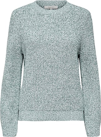 Ripp Strickpullover Dames Green Selected
