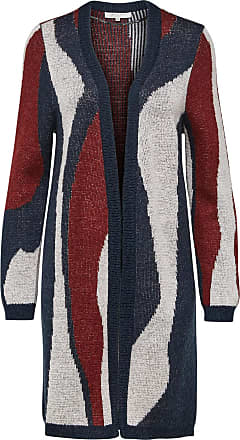 Mohairmix- Strick-cardigan Dames Rood Selected