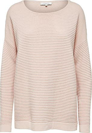 Oversize- Strickpullover Dames White Selected