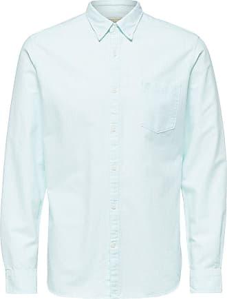 Gepunktetes Langarmhemd Dames Zwart Selected
