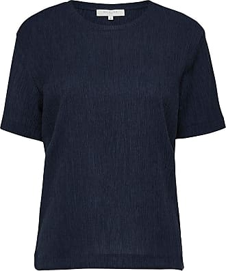 Regular Fit T-shirt Dames Blauw Selected