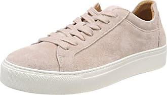 Selected Femme Sfdonna Suede Sneaker Noos, Zapatillas para Mujer, Rosa (Adobe Rose), 37 EU Selected