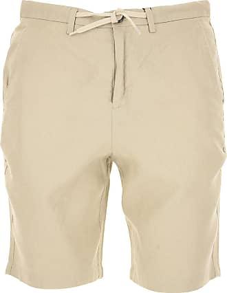 Pantalones de Hombre, Pantalón Baratos en Rebajas, Azul Marina, Lino, 2017, L M S XL Selected