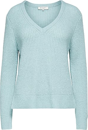 Woll Strickpullover Dames Blauw Selected