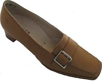 Semler, S5025-012-310, Sydney, Damen, Sandale mit Klettverschluß, stein/creme, Leder, Weite H, Groesse 5