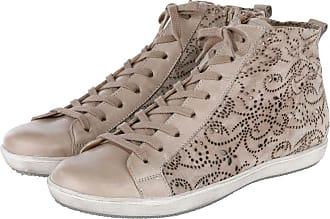 Chaussure À Lacet Cognac Semler Combiné Semler