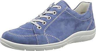 Semler Michelle - Zapatos de Cordones de Terciopelo para Mujer, Color Gris (030 Fango), Talla 37.5