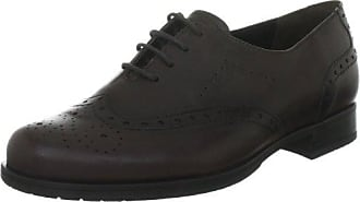 Semler Ulli, Zapatos de Cordones Brogue para Mujer, Beige (867 Fango-Platin), 36 1/3 EU