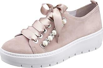 Chaussure En Dentelle Rose Semler / Argent Semler