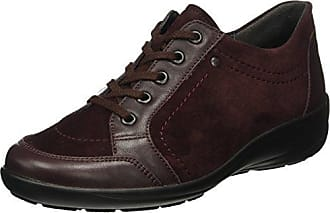 Marc O'Polo Lace Up Shoe 70814263401112, Zapatos de Cordones Brogue para Mujer, Rot (Bordo), 41 1/3 EU
