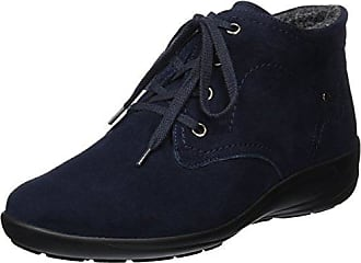 Semler Birgit, Zapatos de Cordones Brogue para Mujer, Negro (Schwarz 001), 39.5 EU