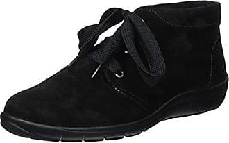 Pavement Frida, Zapatillas para Mujer, Negro (Black Suede 017), 40 EU