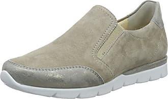 Semler Nelly, Zapatos de Cordones Brogue para Mujer, Beige (Panna-Düne), 38 EU