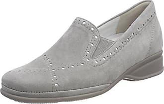24667, Mocassins Femme, Gris (Grey Metallic), 40 EUCaprice