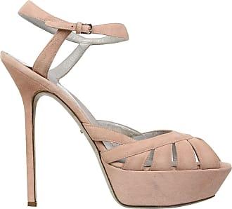 Sandales en cuir blanches talon 15 cmSergio Rossi