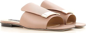 Sandals for Women On Sale, antique pink, Leather, 2017, US 8 (EU 39) Sergio Rossi