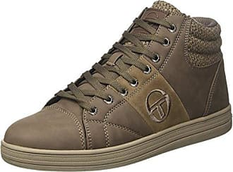 Skechers KicksCoolest kicks-coolest - Zapatillas fashion para mujer, color marrón, talla 35