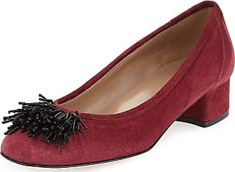 Sesto Meucci Flynn Beaded Suede Pump, Bordeaux