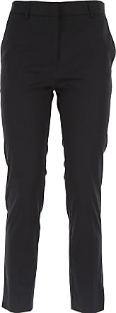 Pants for Women On Sale, Black, polyester, 2017, 26 28 30 32 Sfizio