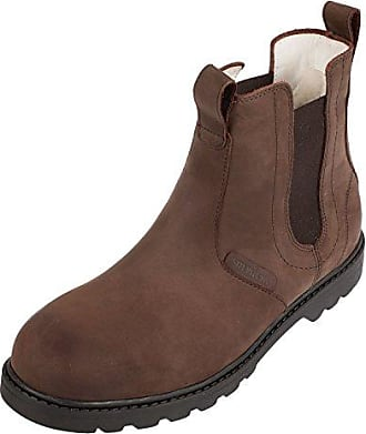 Mens 211020 Warm lined Chelsea boots short length Shepherd