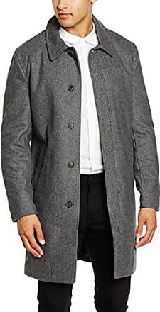 Oversized Wool Coat, Abrigo para Hombre, Grau(LT GREY MIX), Large Lindbergh