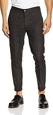 Casual Pant, Pantalones para Hombre, Negro, 27 W Shine Original