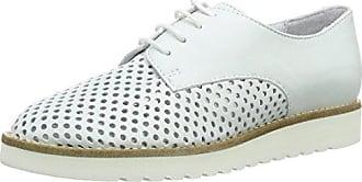 Remonte D2604, Zapatos de Cordones Oxford para Mujer, Blanco (Ice), 42 EU