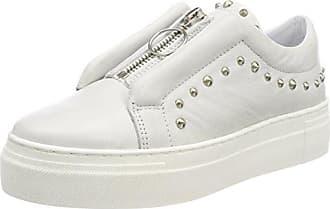 Shoe Biz Fumnaya High, Zapatillas para Mujer, Gris (Nubuck Dark Grey White Sole), 40 EU