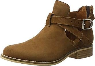 Short Boot, Bottes Classiques Femme, Marron (Cognac Suede), 37 EUShoe Biz
