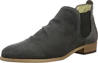 Shoe the Bear Agnete Mix, Botines Bottes Classiques Femme, Taupe, 37 EU