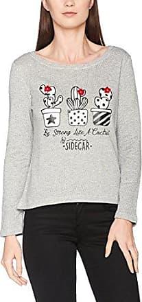 Sidecar Azucena-V17, Camiseta para Mujer, Multicolor (Estampado), Small (Tamaño del Fabricante:S)